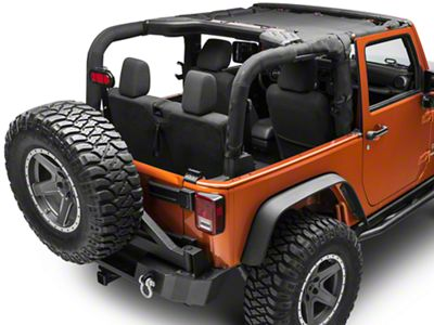 TruShield Front UV Sun Shade - Black (07-18 Jeep Wrangler JK)