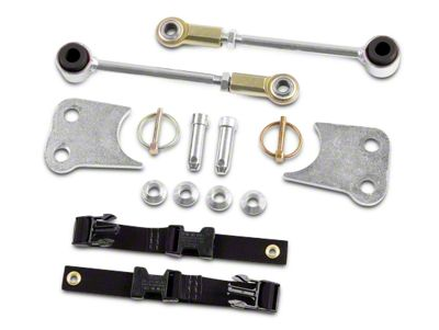 RBP Sway Bar Disconnects (07-18 Jeep Wrangler JK)