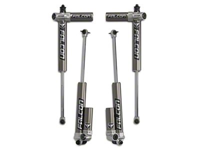 Teraflex Falcon Series 3.1 Sport Piggyback Front and Rear Shocks for 2.5-3 in. Lift (07-18 Jeep Wrangler JK)