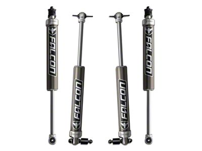 Teraflex Falcon Series 2.1 Monotube Front & Rear Shocks for 4-6 in. Lift (07-18 Jeep Wrangler JK)