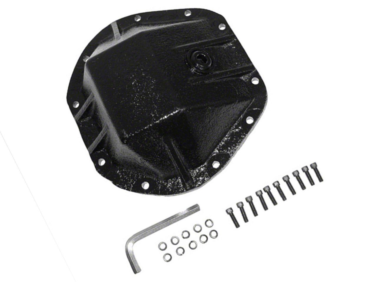 Alloy USA HD Dana 44 Differential Cover - 3/8 in. Cast Steel (87-18 Jeep Wrangler YJ, TJ & JK)