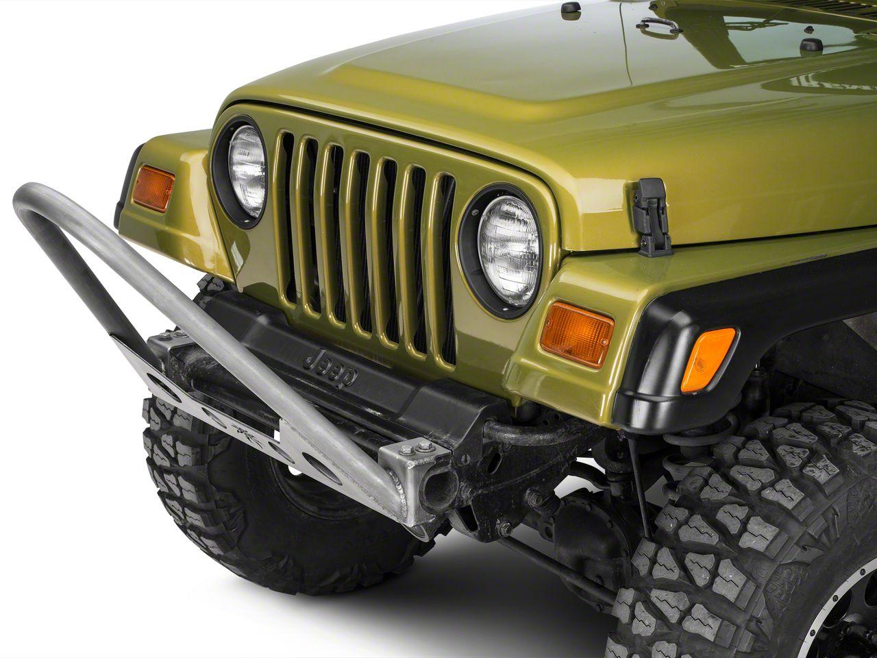 Poison Spyder Trail Stinger - Bare Steel (97-06 Jeep Wrangler TJ)