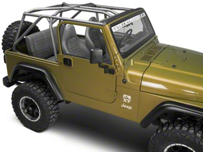 Poison Spyder Lazer-Fit Full Cage Kit (97-06 Jeep Wrangler TJ)