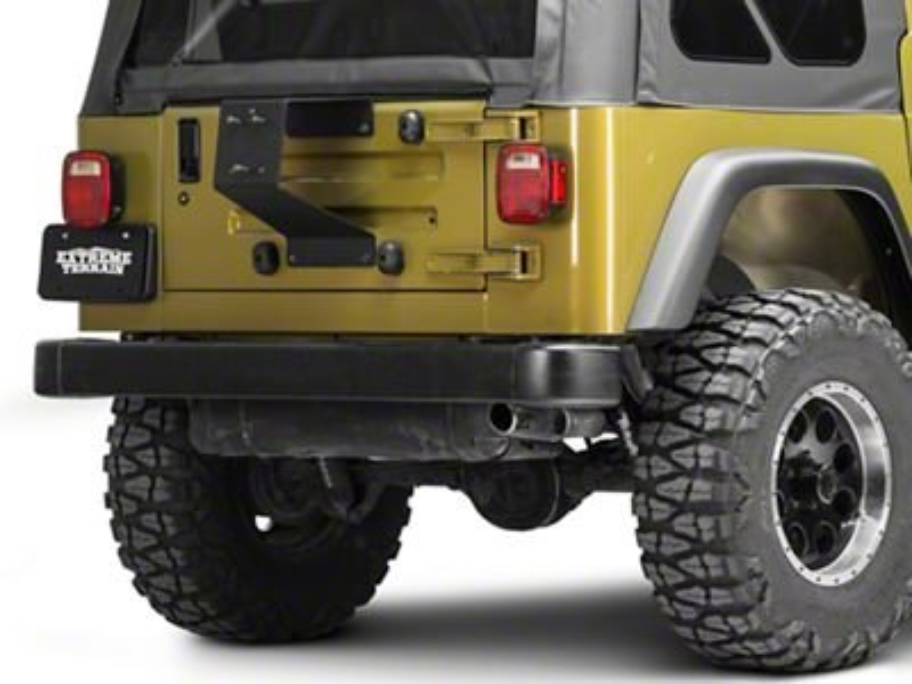 Rugged Ridge Spartacus HD Tire Carrier Wheel Mount (87-06 Jeep Wrangler TJ & YJ)