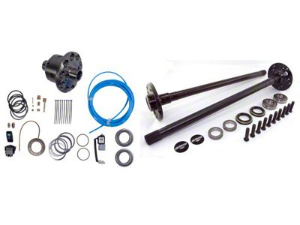 Alloy USA Precision Gear Grande Kit - Chromoly 33 Spline - Dana 44 (97-06 Jeep Wrangler TJ)