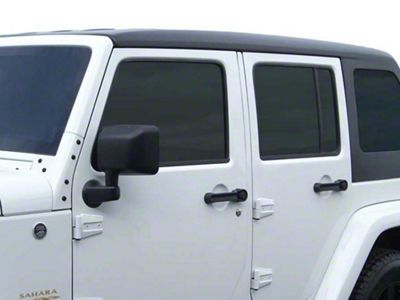 American Fastback Pathfinder Adventure Slider Sunroof Hard Top - Textured Black (07-18 Jeep Wrangler JK 4 Door)
