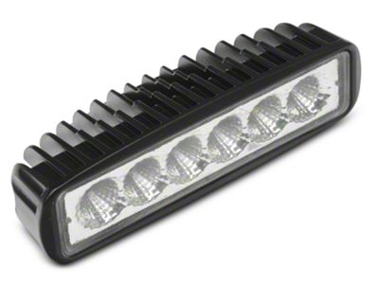 Raxiom 6 in. Slim 6-LED Off-Road Light - Flood Beam (07-18 Jeep Wrangler JK; 2018 Jeep Wrangler JL)
