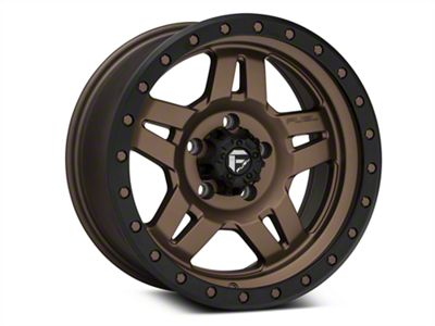 Fuel Wheels ANZA Bronze Wheels (07-18 Jeep Wrangler JK; 2018 Jeep Wrangler JL)