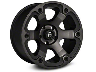 Fuel Wheels Beast Black Machined Wheels (07-18 Jeep Wrangler JK)
