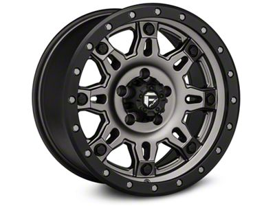 Fuel Wheels Hostage III Gunmetal & Black Wheels (07-18 Jeep Wrangler JK)