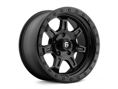 Fuel Wheels JM2 Matte Black Wheels (07-18 Jeep Wrangler JK; 2018 Jeep Wrangler JL)