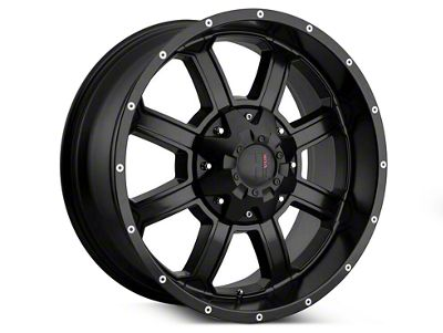 Havok Off-Road H-101 Matte Black Wheels (07-18 Jeep Wrangler JK)