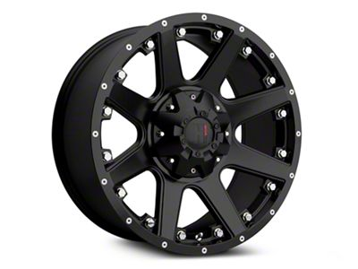 Havok Off-Road H-102 Matte Black Wheels (07-18 Jeep Wrangler JK; 2018 Jeep Wrangler JL)