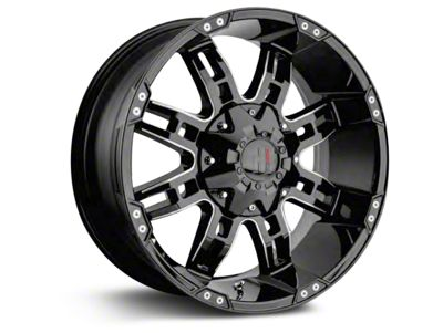 Havok Off-Road H-103 Chrome Wheels (07-18 Jeep Wrangler JK; 2018 Jeep Wrangler JL)