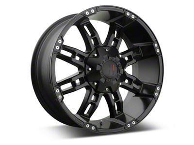 Havok Off-Road H-103 Matte Black Wheels (07-18 Jeep Wrangler JK)
