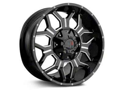 Havok Off-Road H-106 Matte Black Wheels (07-18 Jeep Wrangler JK; 2018 Jeep Wrangler JL)