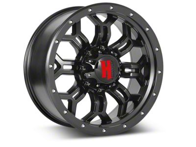 Havok Off-Road H-108 Matte Black Wheels (07-18 Jeep Wrangler JK; 2018 Jeep Wrangler JL)