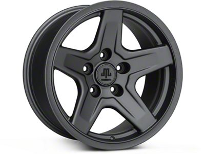 Mammoth Boulder Charcoal Wheels (07-18 Jeep Wrangler JK)
