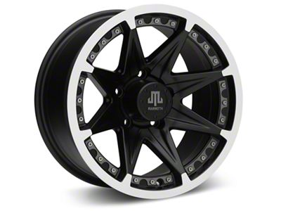 Mammoth Type 88 Black Wheels (07-18 Jeep Wrangler JK; 2018 Jeep Wrangler JL)