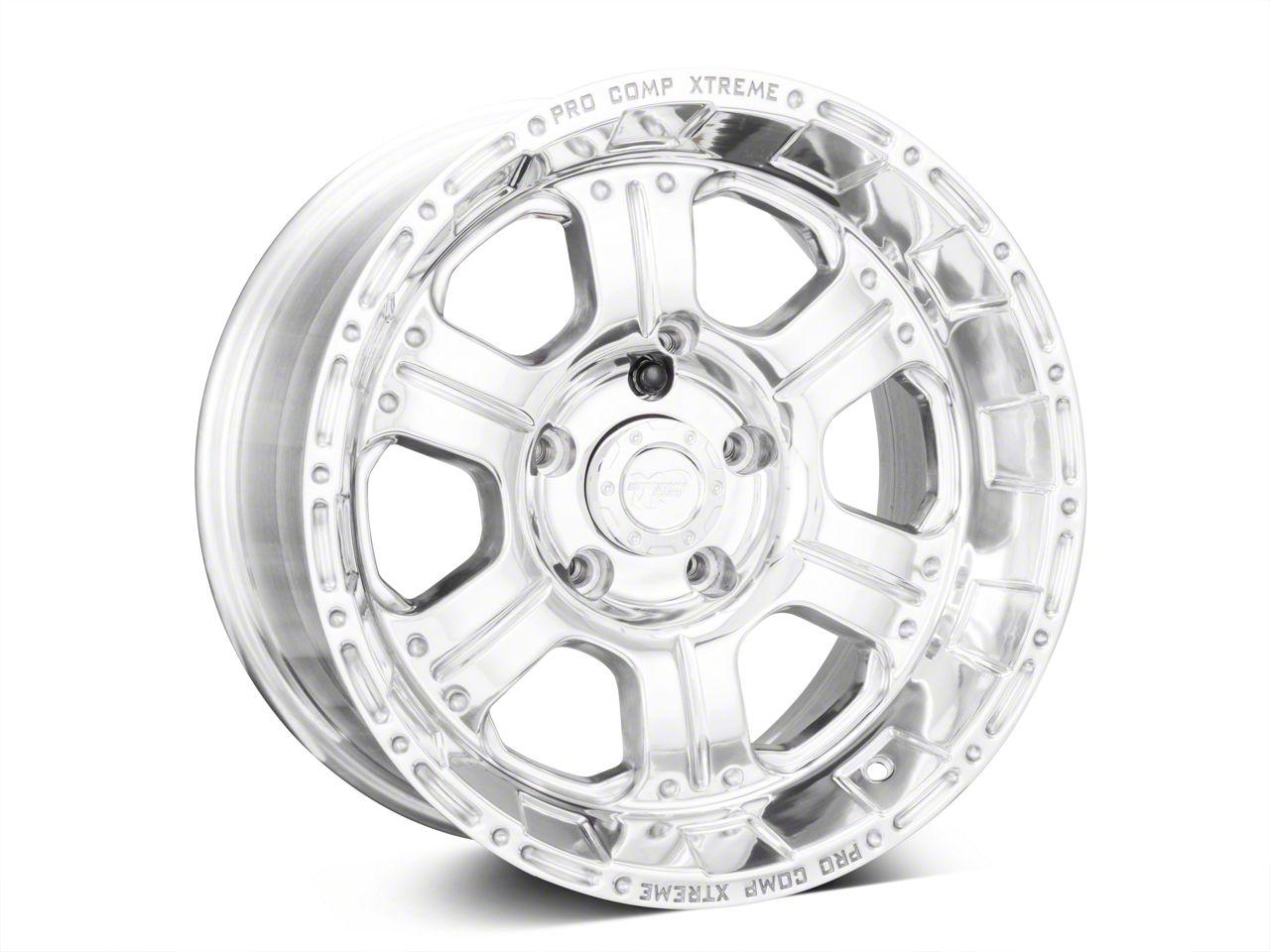 Pro Comp Wheels Series 1089 Polished Wheels (07-18 Jeep Wrangler JK)