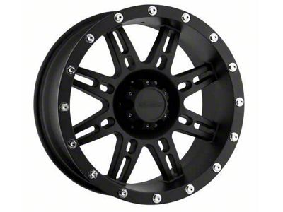 Pro Comp Wheels Alloy Series 7031 Flat Black Wheels (07-18 Jeep Wrangler JK)