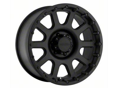 Pro Comp Wheels Alloy Series 7032 Flat Black Wheels (07-18 Jeep Wrangler JK)