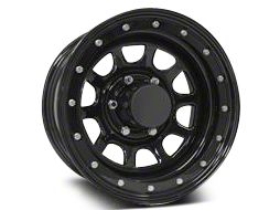 Pro Comp Wheels Steel Series 252 Street Lock Gloss Black Wheels (07-18 Jeep Wrangler JK)