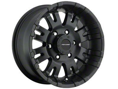Pro Comp Wheels Alloy Series 5001 Satin Black Wheels (07-18 Jeep Wrangler JK)