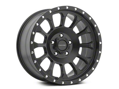 Pro Comp Wheels Alloy Series 34 Rockwell Satin Black Wheels (07-18 Jeep Wrangler JK)