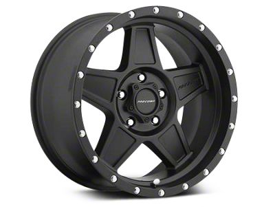 Pro Comp Wheels Alloy Series 35 Predator Satin Black Wheels (07-18 Jeep Wrangler JK)