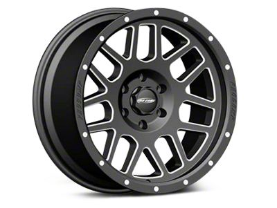 Pro Comp Wheels Alloy Series 40 Vertigo Satin Black Milled Wheels (07-18 Jeep Wrangler JK)