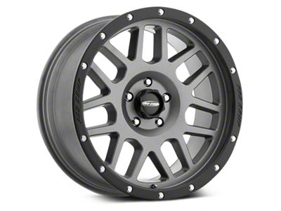 Pro Comp Wheels Alloy Series 40 Vertigo Matte Graphite Wheels (07-18 Jeep Wrangler JK)