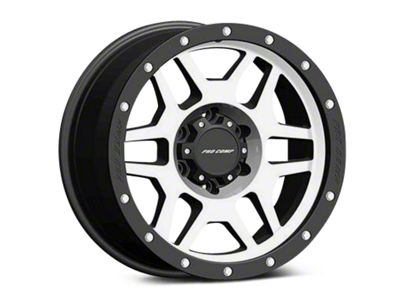 Pro Comp Wheels Alloy Series 41 Phaser Black Machined Wheels (07-18 Jeep Wrangler JK)