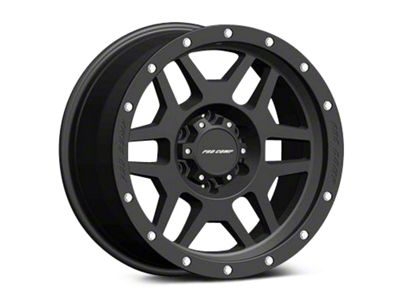Pro Comp Wheels Alloy Series 41 Phaser Satin Black Wheels (07-18 Jeep Wrangler JK)