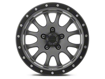 Pro Comp Wheels Alloy Series 44 Syndrome Matte Graphite Wheels (07-18 Jeep Wrangler JK)