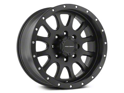 Pro Comp Alloy Series 44 Syndrome Satin Black Wheels (07-18 Jeep Wrangler JK; 2018 Jeep Wrangler JL)