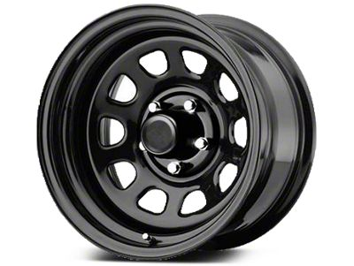 Pro Comp Steel Series 51 District Gloss Black Wheels (07-18 Jeep Wrangler JK; 2018 Jeep Wrangler JL)