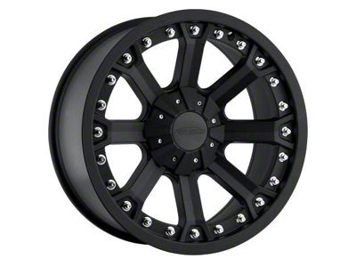 Pro Comp Wheels Alloy Series 7033 Flat Black Wheels (07-18 Jeep Wrangler JK)