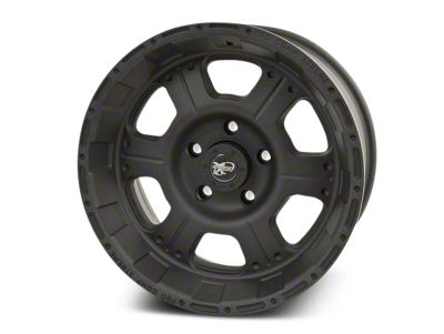 Pro Comp Alloy Series 7089 Flat Black Wheels (07-18 Jeep Wrangler JK; 2018 Jeep Wrangler JL)