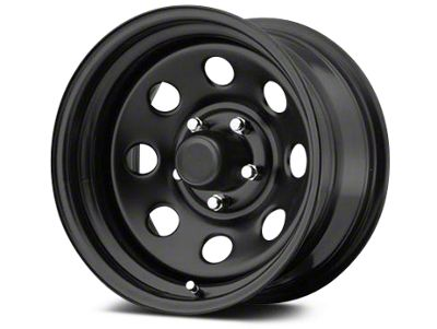Pro Comp Steel Series 97 Flat Black Wheels (07-18 Jeep Wrangler JK; 2018 Jeep Wrangler JL)