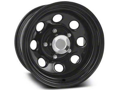Pro Comp Wheels Steel Series 98 Rock Crawler Gloss Black Wheels (07-18 Jeep Wrangler JK)