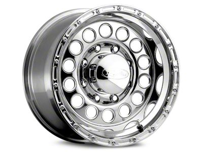 Raceline 887 Rockcrusher Polished Wheels (07-18 Jeep Wrangler JK; 2018 Jeep Wrangler JL)