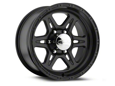 Raceline Renegade Black Wheels (07-18 Jeep Wrangler JK; 2018 Jeep Wrangler JL)