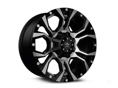 RBP 64R Widow Black Machined Wheels (07-18 Jeep Wrangler JK)