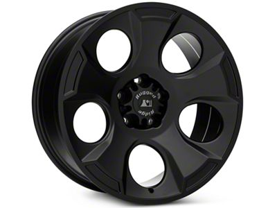 Rugged Ridge Drakon Satin Black Wheels (07-18 Jeep Wrangler JK; 2018 Jeep Wrangler JL)