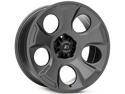 Rugged Ridge Drakon Gunmetal Gray Wheels (07-18 Jeep Wrangler JK; 2018 Jeep Wrangler JL)