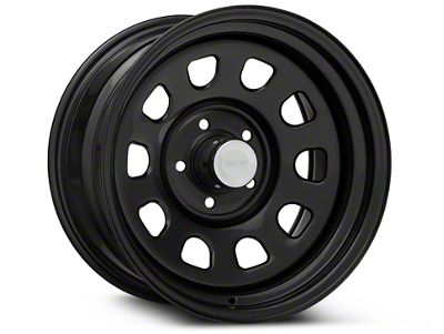 Rugged Ridge Steel Gloss Black Wheels (07-18 Jeep Wrangler JK; 2018 Jeep Wrangler JL)