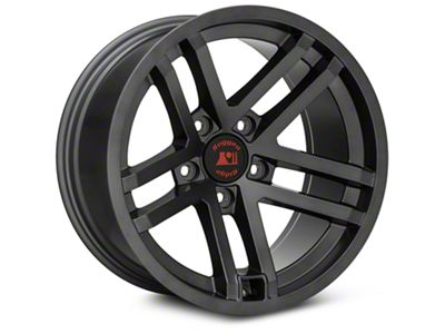 Rugged Ridge Jesse Spade Satin Black Wheels (07-18 Jeep Wrangler JK; 2018 Jeep Wrangler JL)