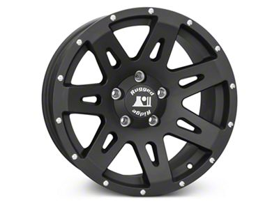 Rugged Ridge XHD Satin Black Wheels (07-18 Jeep Wrangler JK)