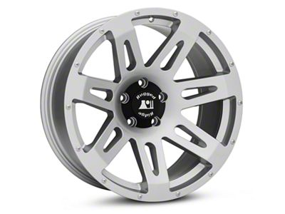 Rugged Ridge XHD Silver Wheels (07-18 Jeep Wrangler JK; 2018 Jeep Wrangler JL)